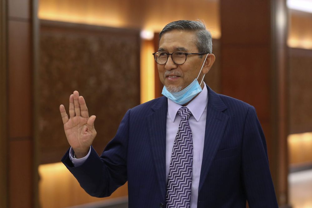 Deputy Dewan Rakyat Speaker Datuk Mohd Rashid Hasnon clarified today that the video was taken during the current movement control order. — Picture by Yusof Mat Isa