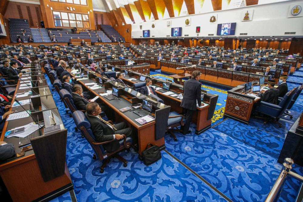According to the Order of the Meeting on the Parliament official website, the issues will be raised during the Ministers' Question Time. — Picture by Hari Anggara