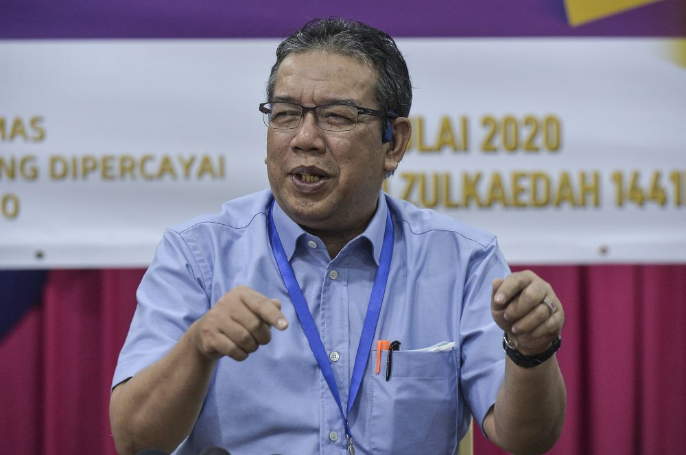 Rural Development Minister Datuk Abd Latiff Ahmad says the government has allocated RM120.5 million for the implementation of Rural Electricity Supply Programme with grid connection in three zones in Sabah. — Picture by Shafwan Zaidon