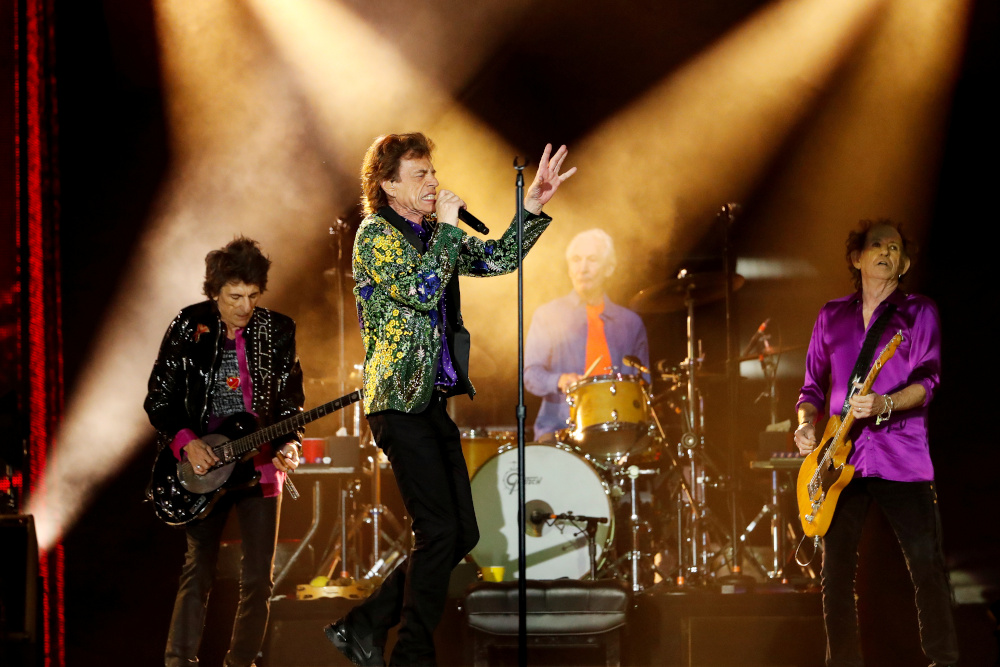 The Rolling Stones recently launched two chocolate bars, named 'Brown Sugar' and 'Cherry Red.' — Reuters pic