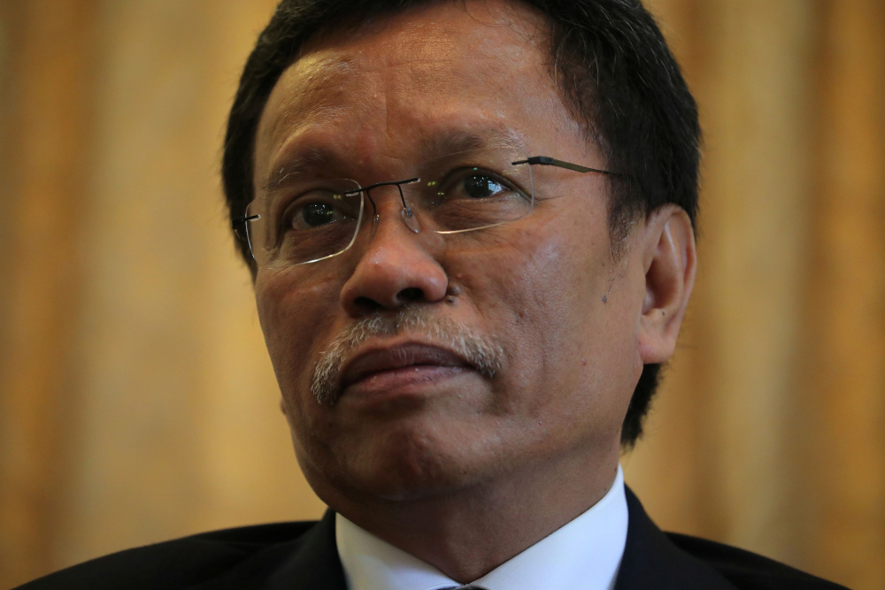 Former chief minister Datuk Seri Shafie Apdal banned the export of logs from the state almost immediately after coming into power. — Reuters pic