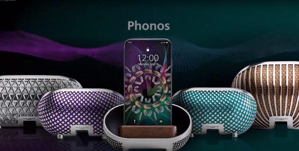 Royal Selangor's Phonos Pod Amplifiers — Picture via SoyaCincau