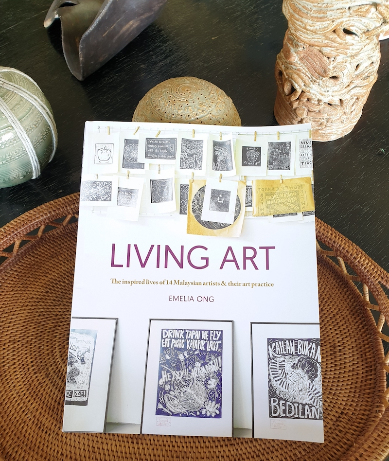 'Living Art' not only gives us an insight into how artists work but also how they think. — Picture courtesy of Shalini Ganendra