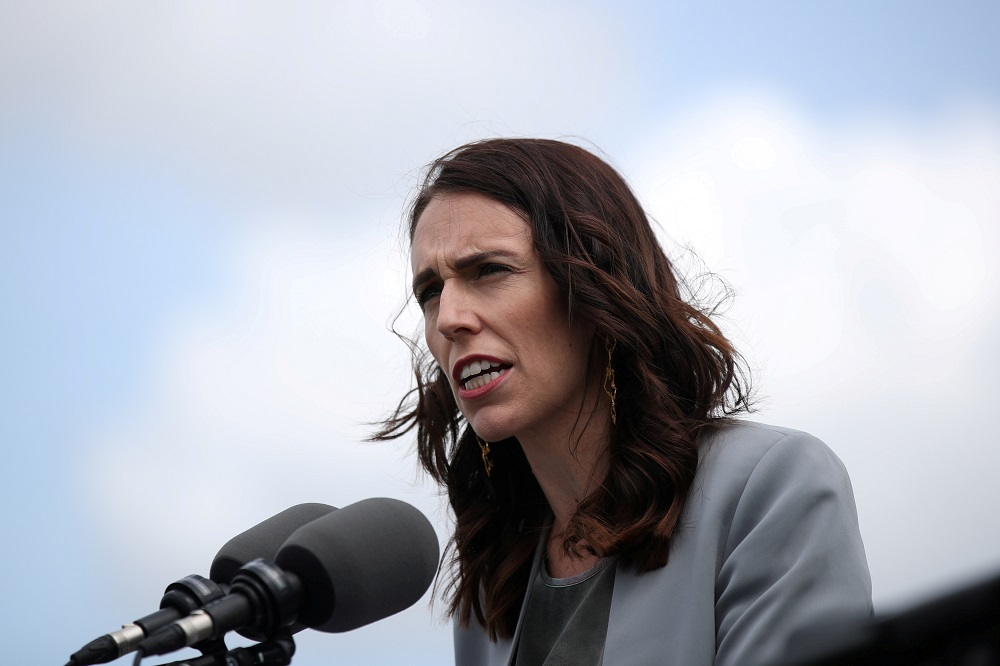Prime Minister Jacinda Ardern, who is facing a general election on October 17, scaled back the restrictions this month, but the city is still under alert level 2.5, meaning social gatherings of more than 10 people are not allowed. — Reuters pic
