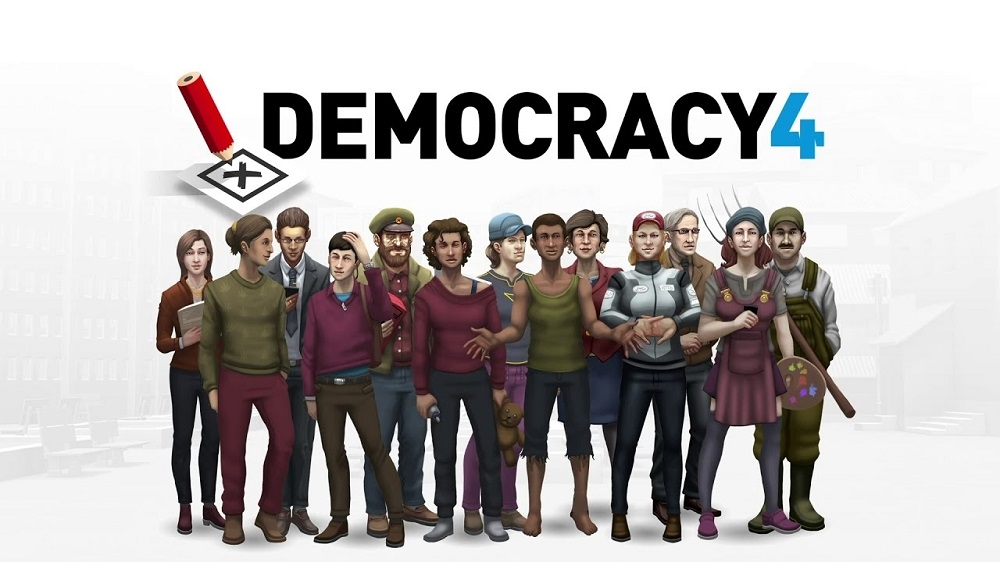 This debut release of 'Democracy 4' deals with the UK, with more countries and languages to be added as development continues. — Picture by Positech Games