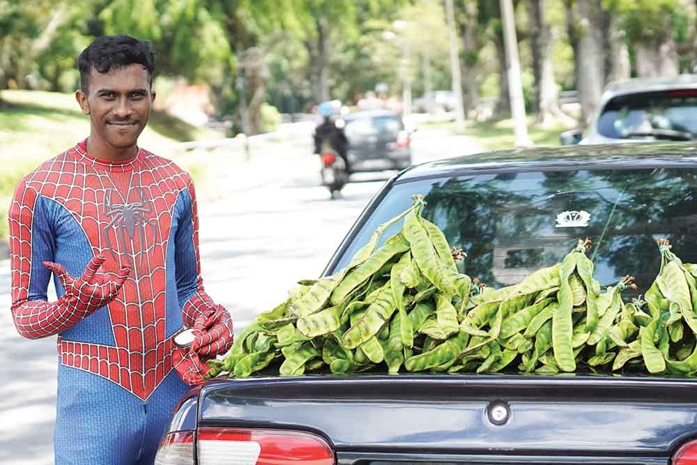 Selvakumar decided to take up the business to earn some extra cash in his free time. — Picture courtesy of SJ Echo.