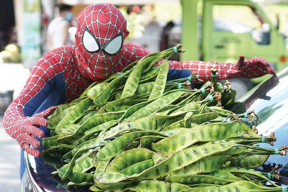 """Selvakumar said he chose to """"be"""" Spider-Man because it is a character that is loved by many. —Picture courtesy of SJ Echo."""