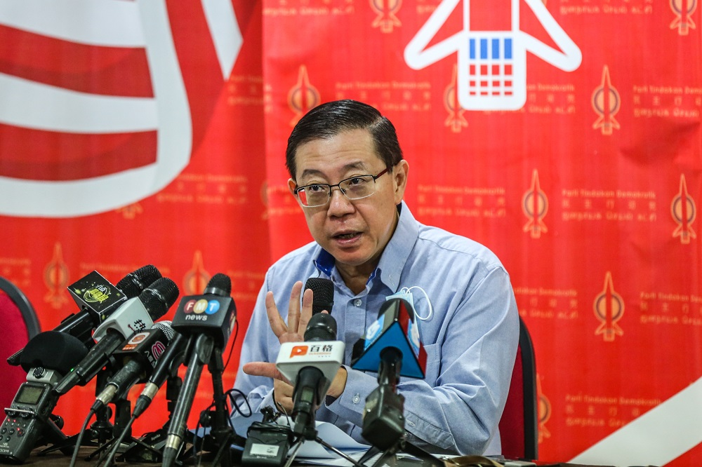 Lim said DAP has constantly been at the forefront as a multiracial party fighting for the well-being and welfare of all Malaysians. — Picture by Firdaus Latif