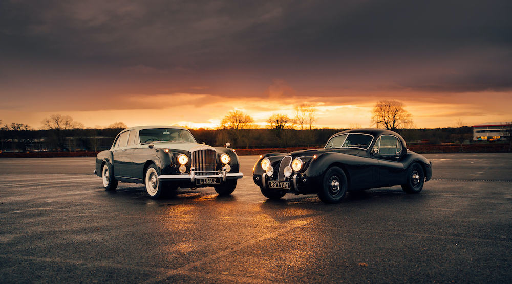 Lunaz Design is creating electric versions of this Rolls-Royce Silver Cloud and Phantom V. — Picture courtesy of Lunaz Design