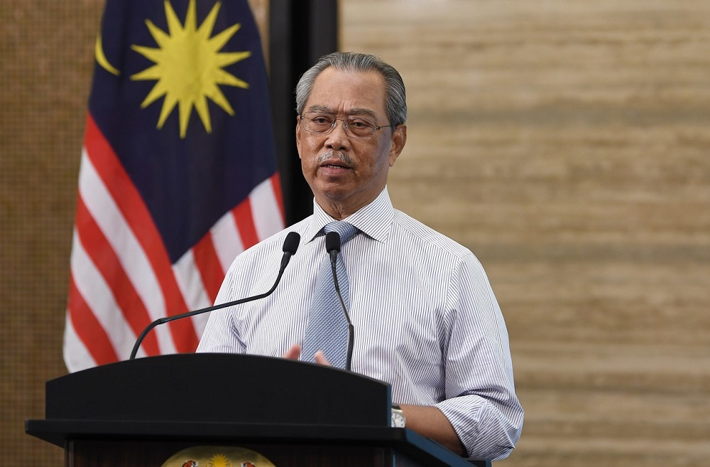 Muhyiddin was delivering Malaysia's national statement at the high-level meeting of the United Nations General Assembly to commemorate the 75th anniversary of the UN. — Bernama pic