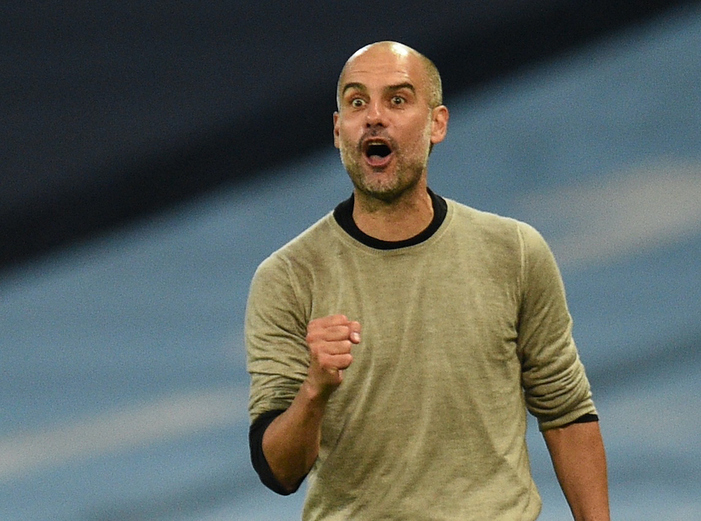 File photo of Manchester City manager Pep Guardiola at the Etihad Stadium in Manchester, August 7, 2020. — Reuters pic