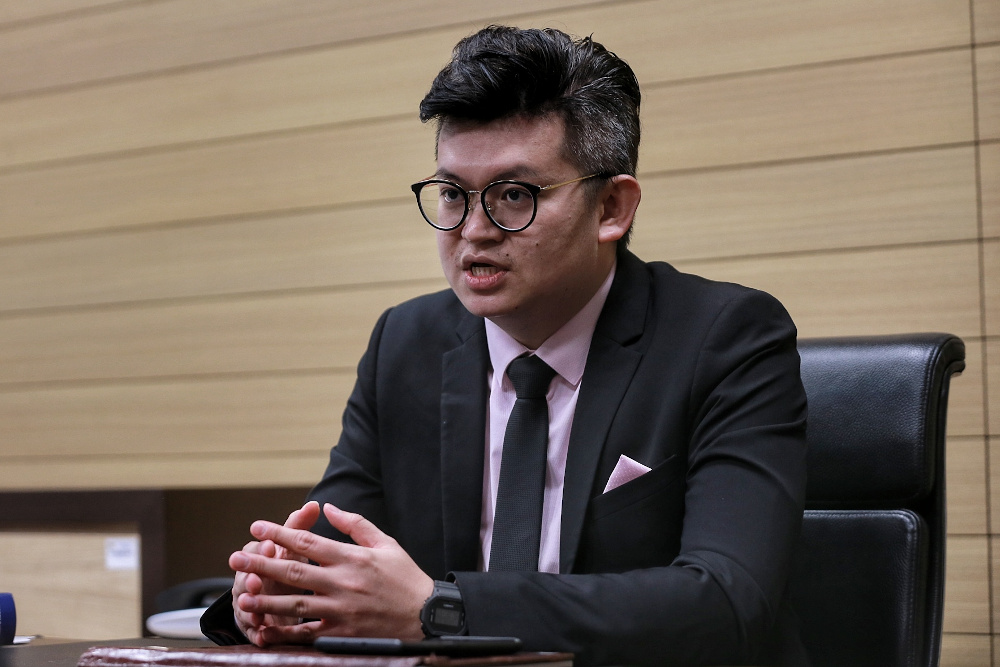 The call for quarantine order to be fairly practised by all leaders said Bandar Kuching MP Dr Kelvin Yii. — Picture by Ahmad Zamzahuri