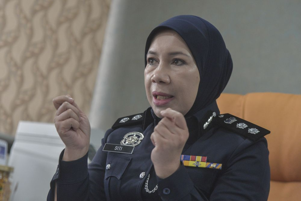 Siti Kamsiah highlighted a 20 per cent increase in parental abuse by children during the MCO. ― Picture by Shafwan Zaidon