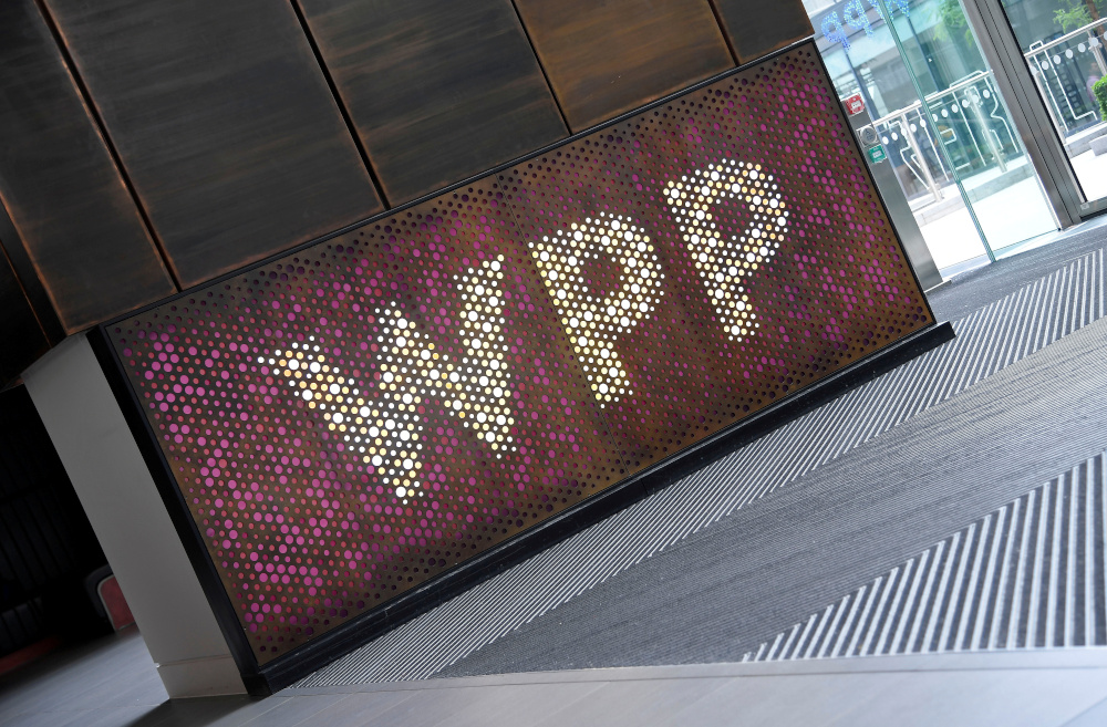 Branding signage is seen for WPP Group, the largest global advertising and public relations agency at their offices in London, Britain, July 17, 2019. — Reuters pic