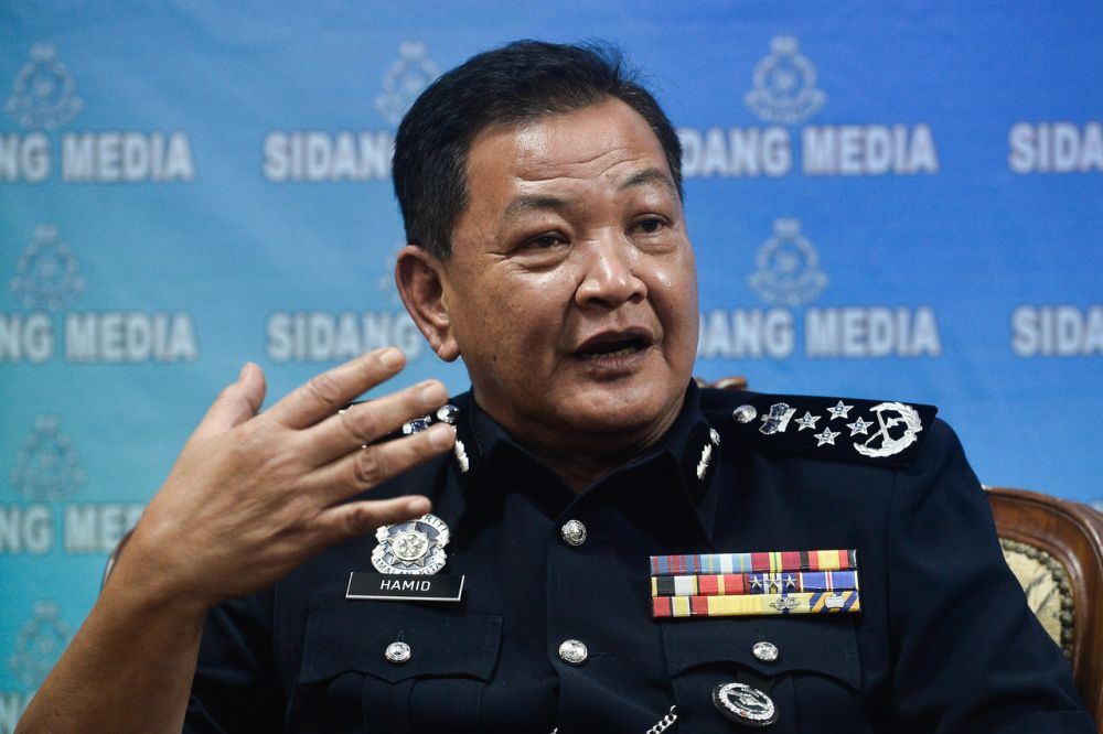 Inspector-General of Police Tan Sri Abdul Hamid Bador said the allocation would be fully utilised to improve services and delivery system of PDRM. ― Bernama pic