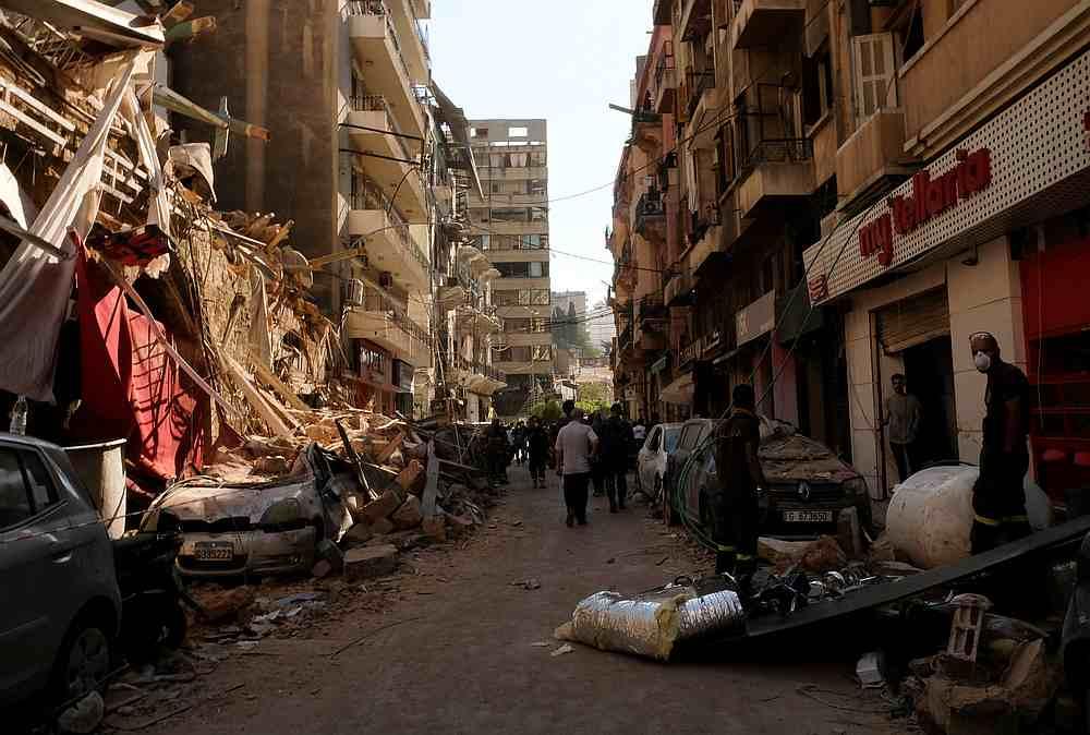 慕尤丁表示,马来西亚政府将向黎巴嫩人民提供100万令吉的人道主义援助。-路透社-
