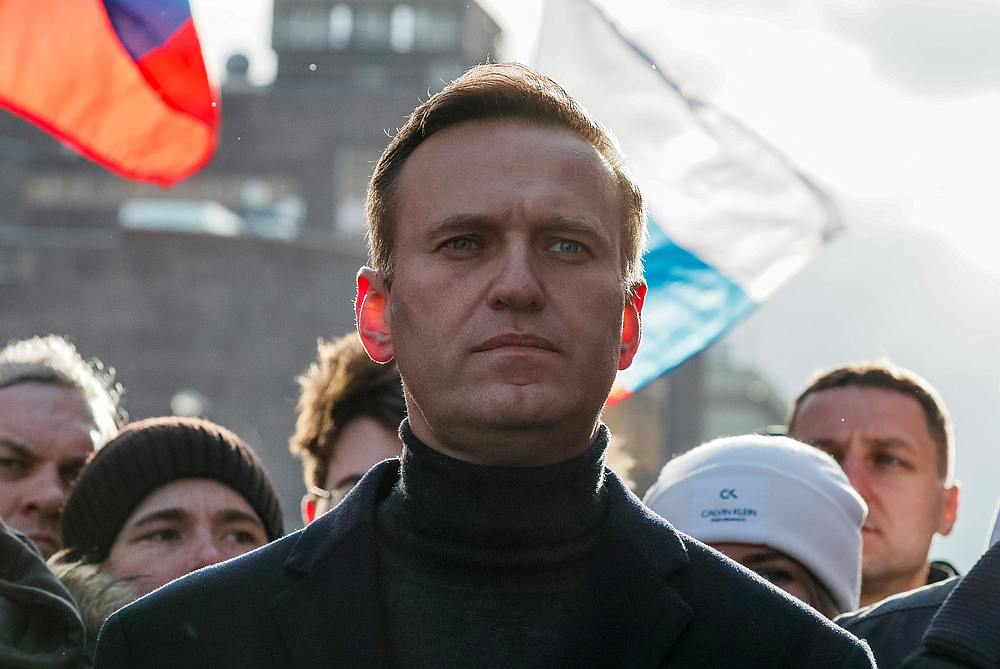 Russian opposition politician Alexei Navalny said it was a mistake to look for a political motive in Moscow's actions. — Reuters pic