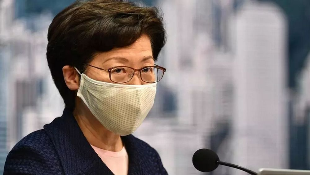 Hong Kong Chief Executive Carrie Lam. — AFP pic