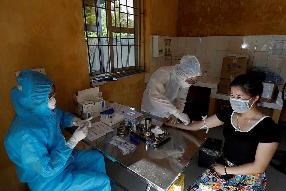 Vietnam is keen to boost its vaccine capacity and the World Health Organisation said in May it was reviewing a proposal by an unidentified manufacturer in Vietnam to become an mRNA-based Covid-19 vaccine technology hub. — Reuters pic