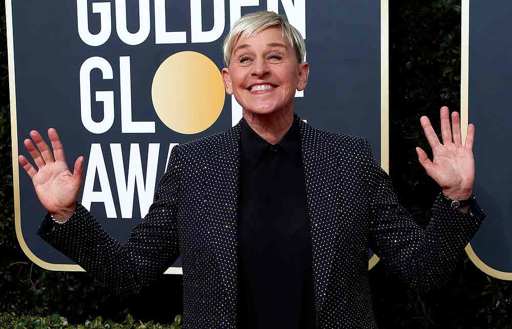 DeGeneres: 'Today we are starting a new chapter'