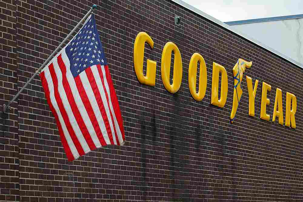 A US flag flies at a Goodyear Tire facility in Somerville, Massachusetts July 25, 2017. — Reuters pic