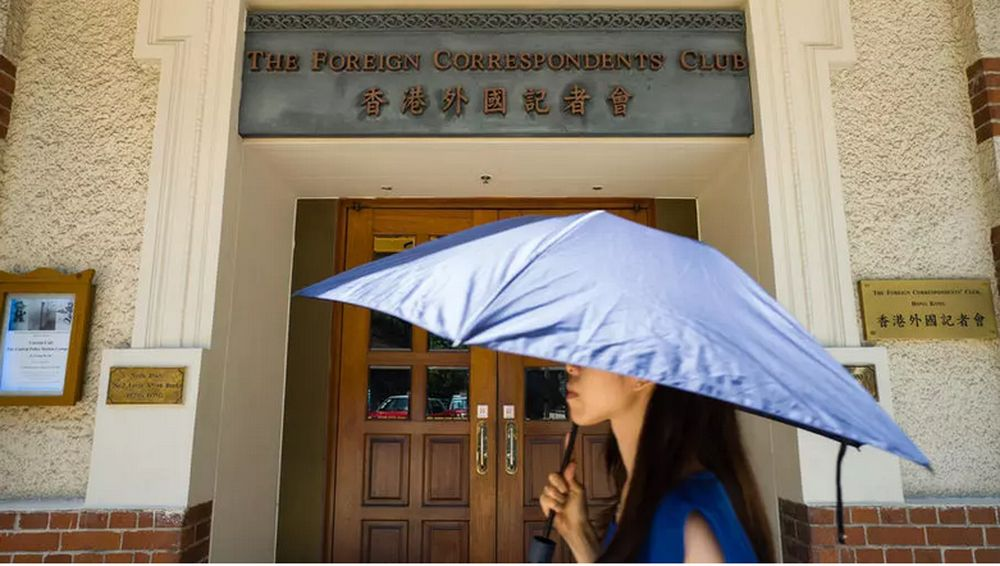 The Foreign Correspondents' Club of Hong Kong said journalists were running into 'highly unusual' problems in obtaining visas. — AFP pic