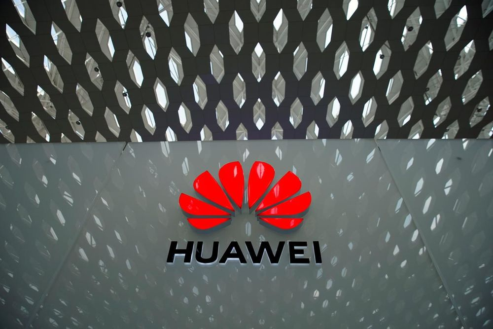 Under a new law put forward separately today, telecoms companies could be fined up to 10 per cent of turnover or £100,000 a day if they contravene a ban on using equipment made by Chinese technology firm Huawei. — Reuters pic