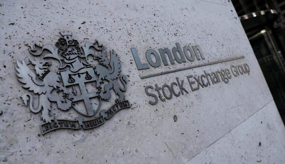 The blue-chip FTSE 100 index fell 0.8 per cent, declining for the third consecutive session, with travel and energy stocks falling the most, while the mid-cap index dropped 1.2 per cent to a one-month low. — Reuters pic