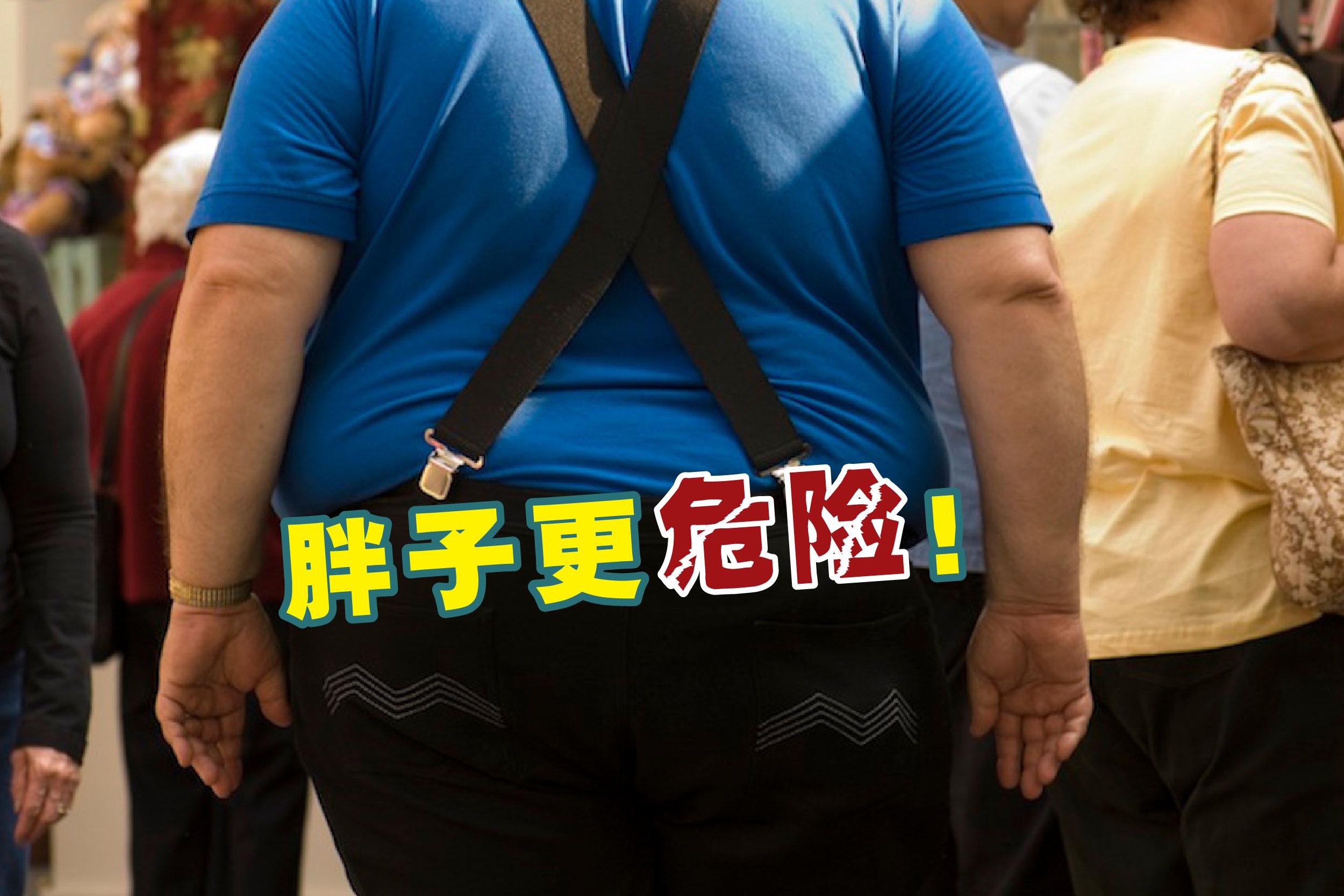 一项新研究发现,肥胖会导致死于新冠病毒的风险增加近50%。-法新社,精彩大马制图-
