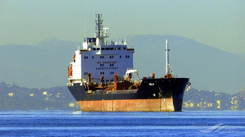 The oil tanker Wila is reported by the US to been boarded by Iranian forces near the Strait of Hormuz August 12, 2020. — Picture courtesy of vesselfinder.com