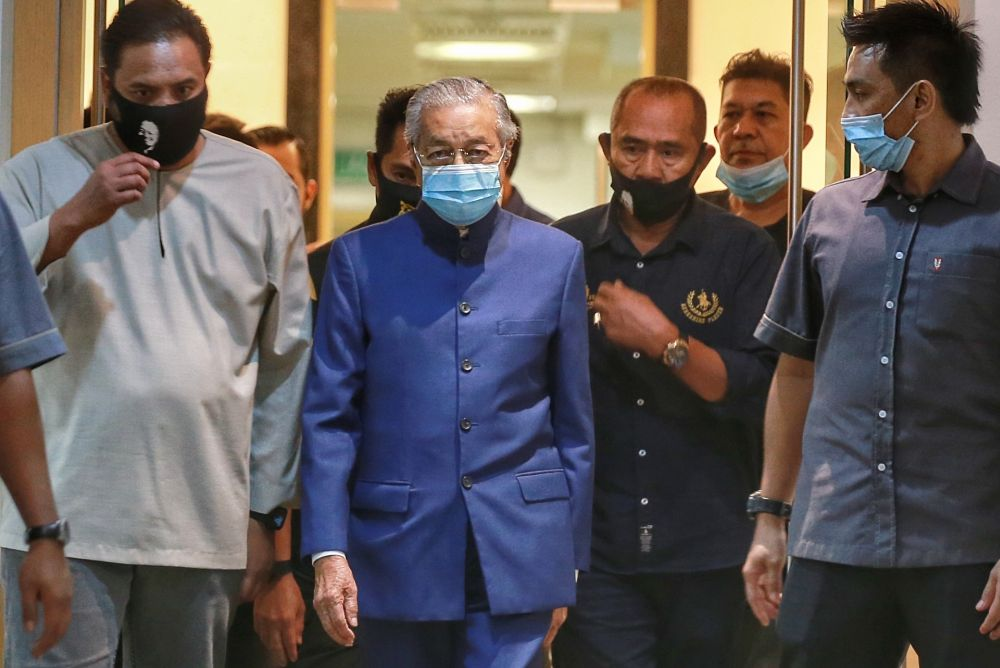 Dr M: I don't care about my legacy, people will still criticise me when I'm gone