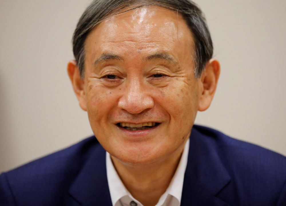Yoshihide Suga on Monday won a landslide victory to take over the Liberal Democratic Party (LDP). He pledged to carry on many of Abe's programmes, including his signature 'Abenomics' economic strategy. — Reuters pic