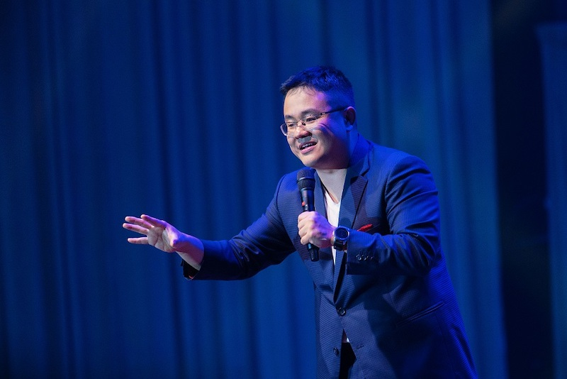 The 33-year-old has an upcoming stand-up special with Netflix that will premiere on Malaysia Day. — Picture courtesy of Netflix