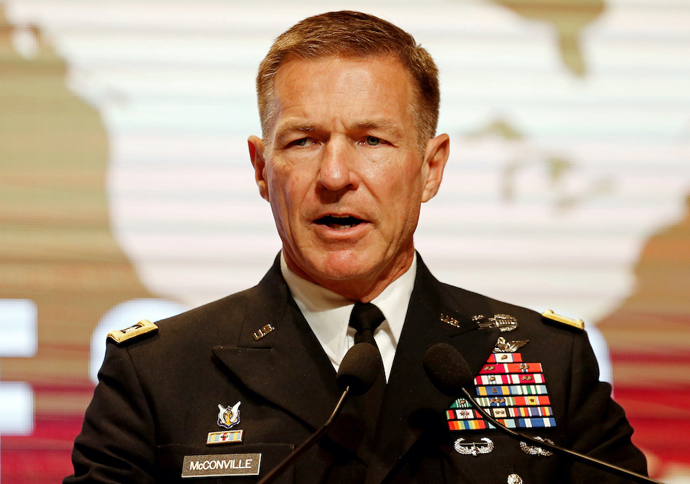 Top Army General: War Is 'a Last Resort'