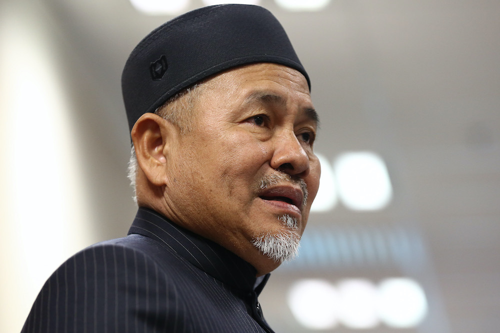 Environment and Water Minister Datuk Tuan Ibrahim Tuan Man said based on the ministry's record, the RM36 million project had never been scrapped even with the change of government after the 14th General Election (GE14). — Picture by Yusof Mat Isa