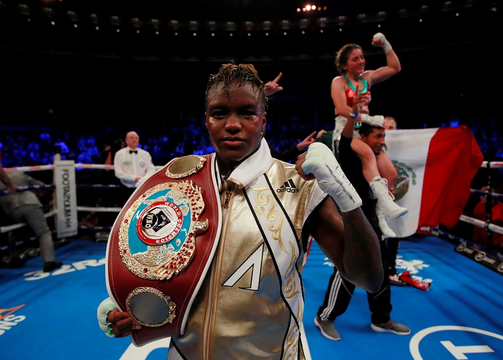 Double Olympic British boxing champion Nicola Adams will dance in the upcoming series starting next month, which she said would be 'nice for the LGBT community'. — Action Images via Reuters