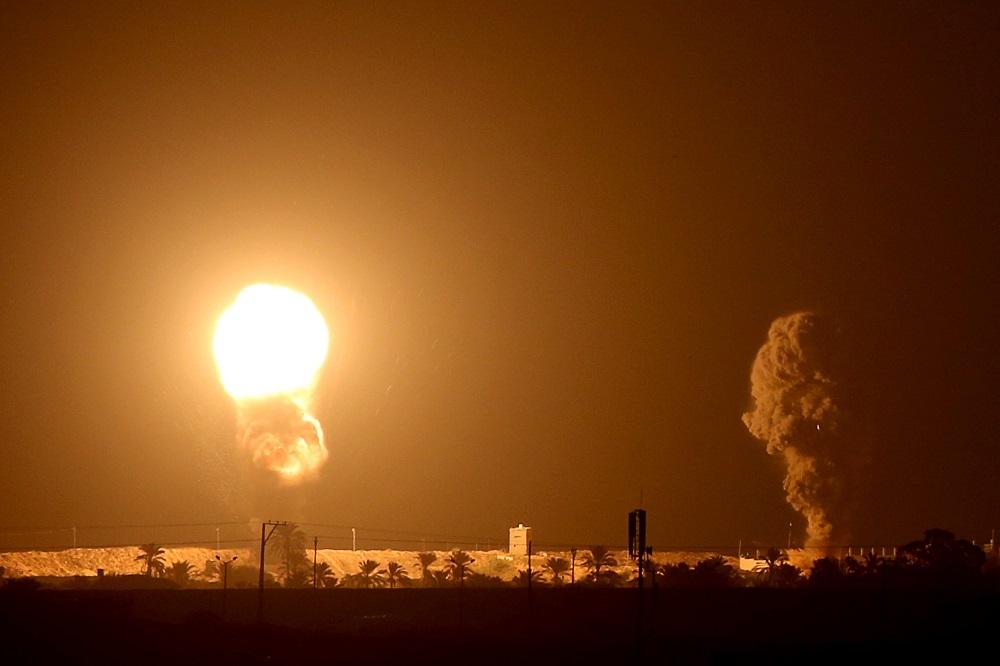 Israeli jets bomb Gaza after rocket fire | World | Malay Mail Rockets Gaza Strip Israel