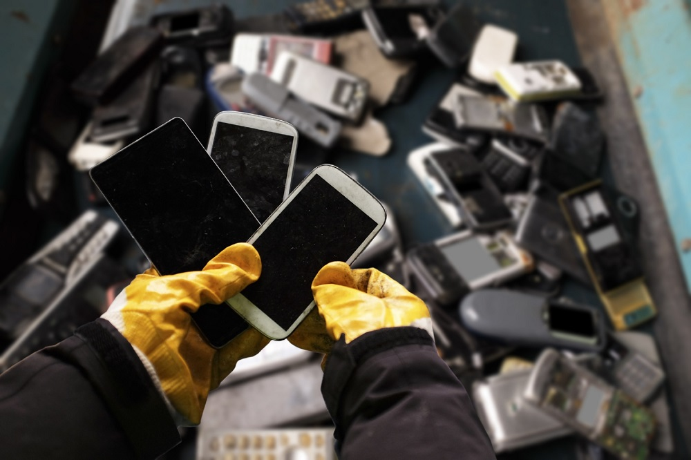 According to the United Nations, more than 50 million tonnes of electronic waste was discarded in 2019. — AFP pic