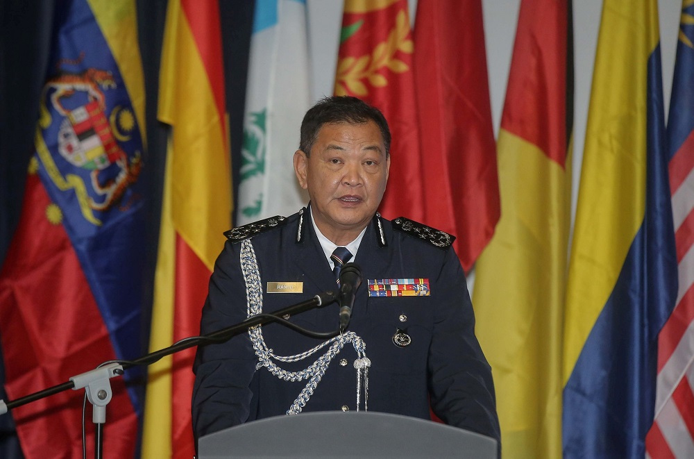 IGP Tan Sri Abdul Hamid Bador says he has instructed the compliance teams to detain or compound those who violated the SOP without compromise. — Picture by Farhan Najib