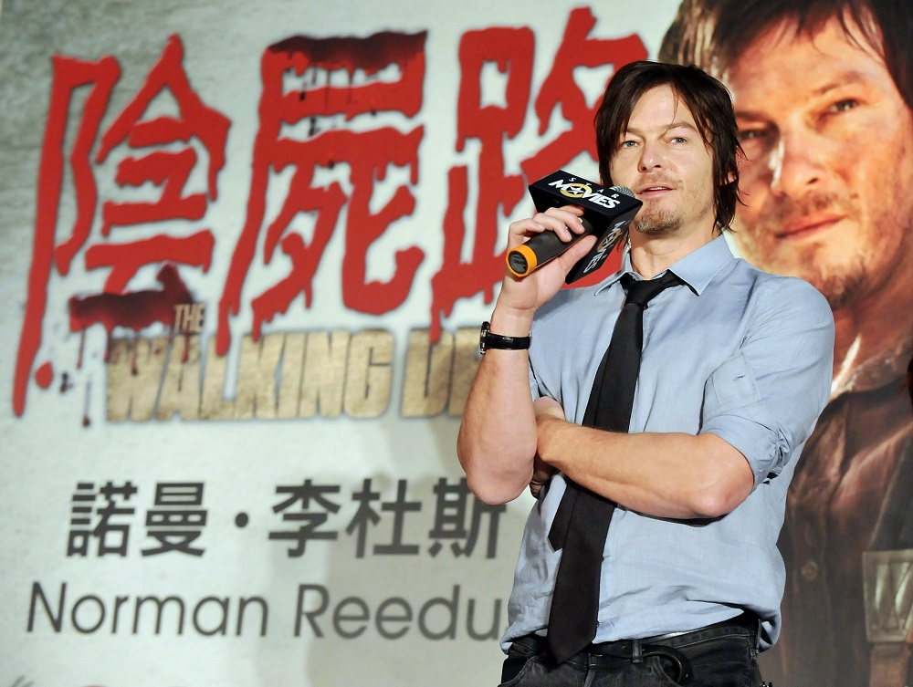 US actor Norman Reedus. — AFP pic