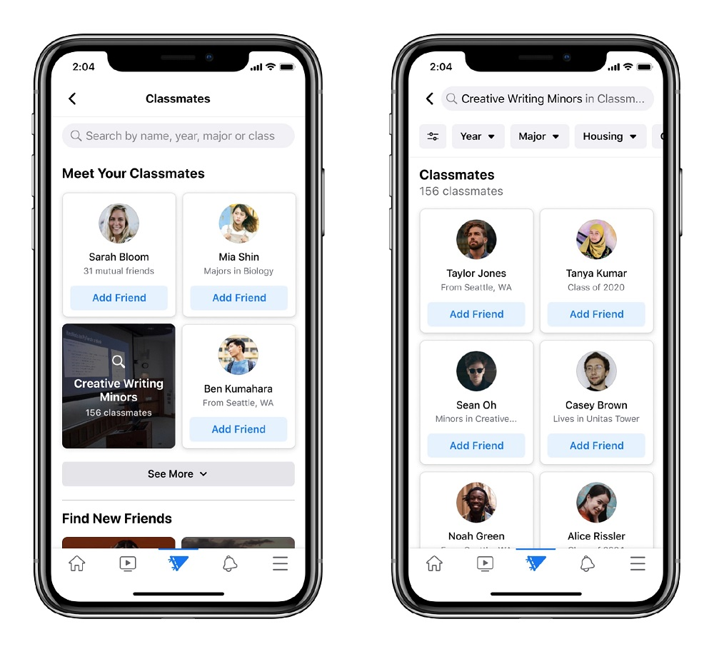 Facebook Campus wants to be able to connect students studying at the same university. — Picture courtesy of Facebook
