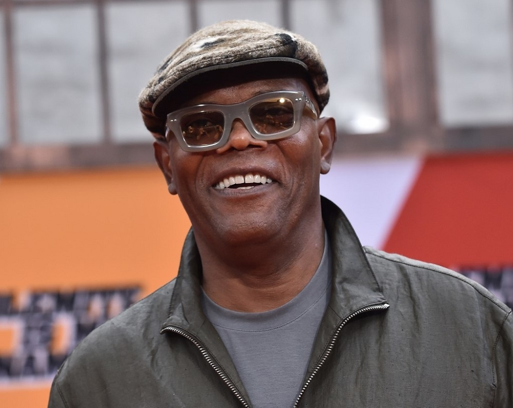 American actor Samuel L. Jackson is promising young people who check their eligibility to vote a class on how to swear in 15 languages. — AFP pic
