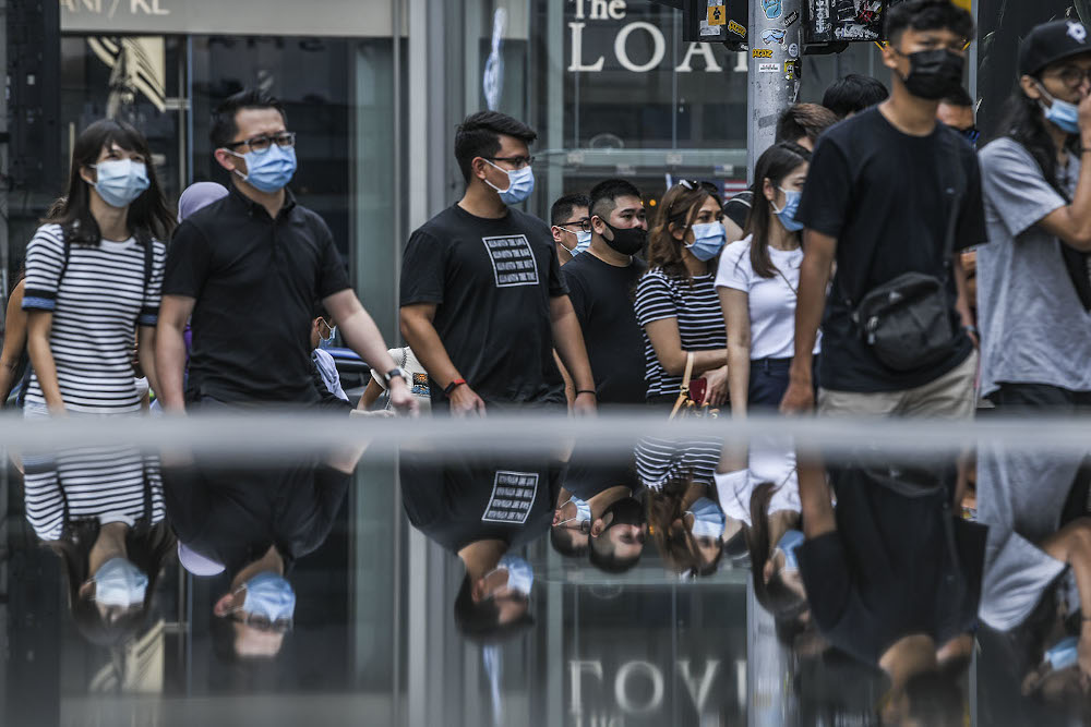 Masks have been made mandatory at various locations since the recovery movement control order, particularly in places where physical distancing would be difficult to maintain. — Picture by Hari Anggara