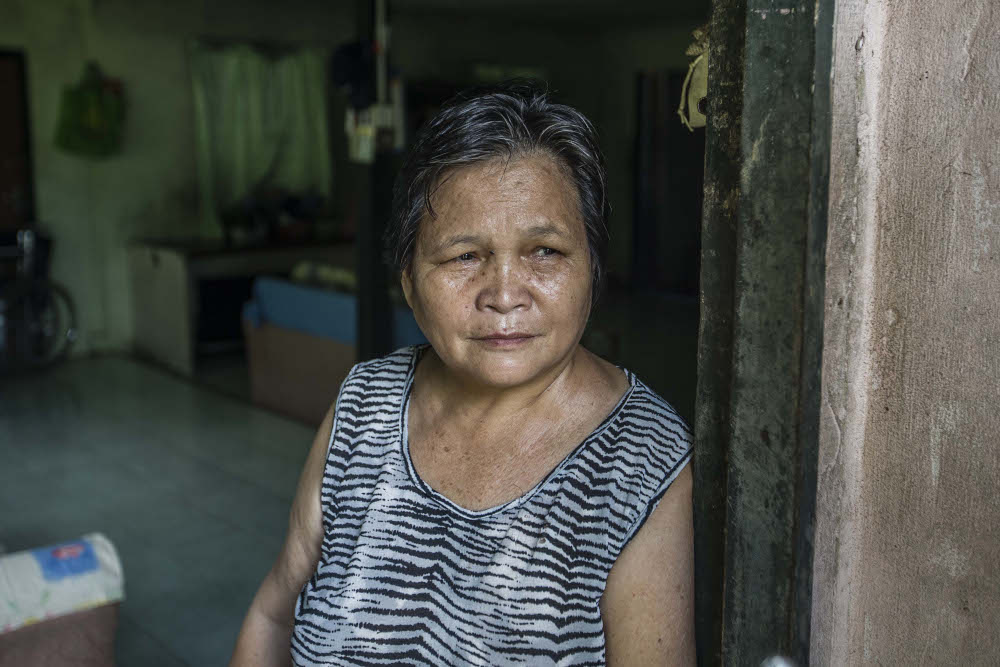 For some like Maria Gasitar, 62, a resident of Kampung Mongkusilad, a village at inner the edge of the constituency lines, it was the simpler requirements like taps with running water that could prove to be the clincher in who gets her vote. — Picture by