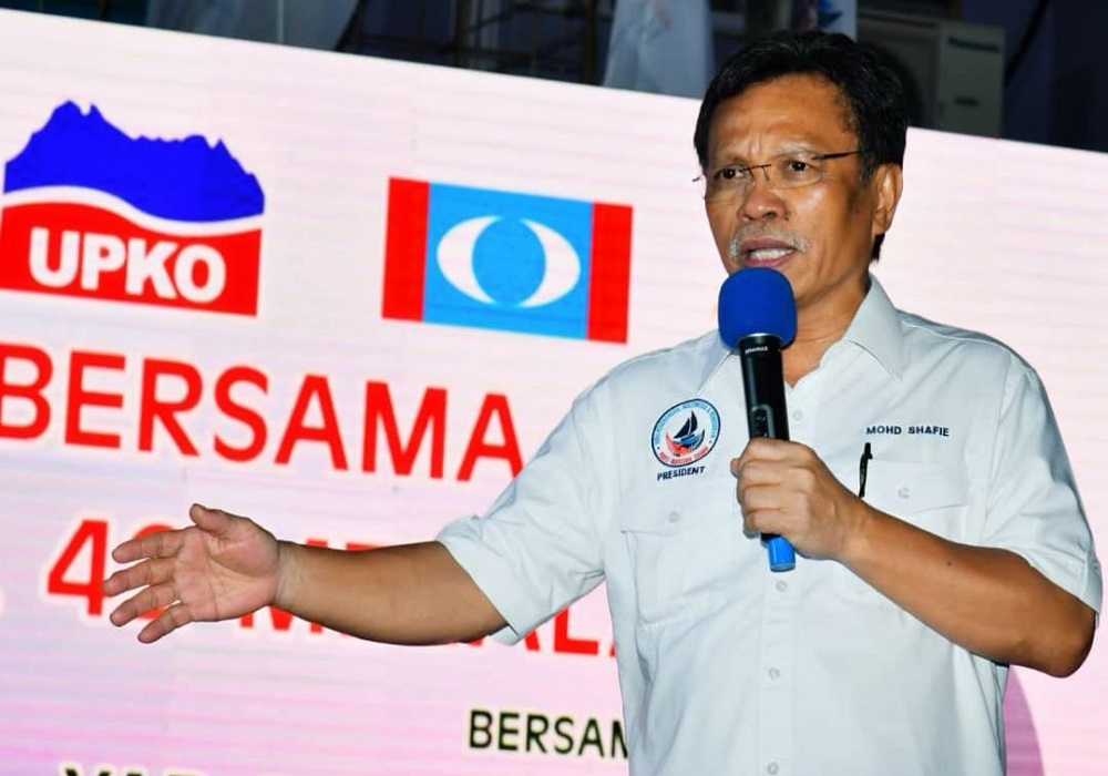 Datuk Seri Anifah Aman yesterday said caretaker Chief Minister Datuk Seri Mohd Shafie Apdal's (pic) demand on SST arrears on petroleum products to Sabah after 26 months of governance in Sabah was questionable. — Borneo Post Online pic