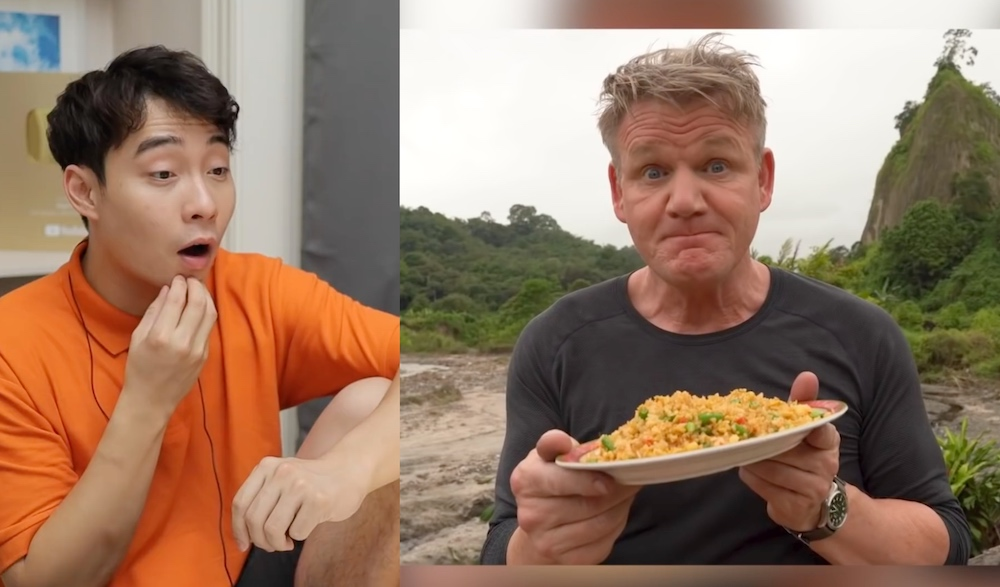 Comedian Uncle Roger Gives Stamp Of Approval For Gordon Ramsay S Indonesian Fried Rice Video Life Malay Mail