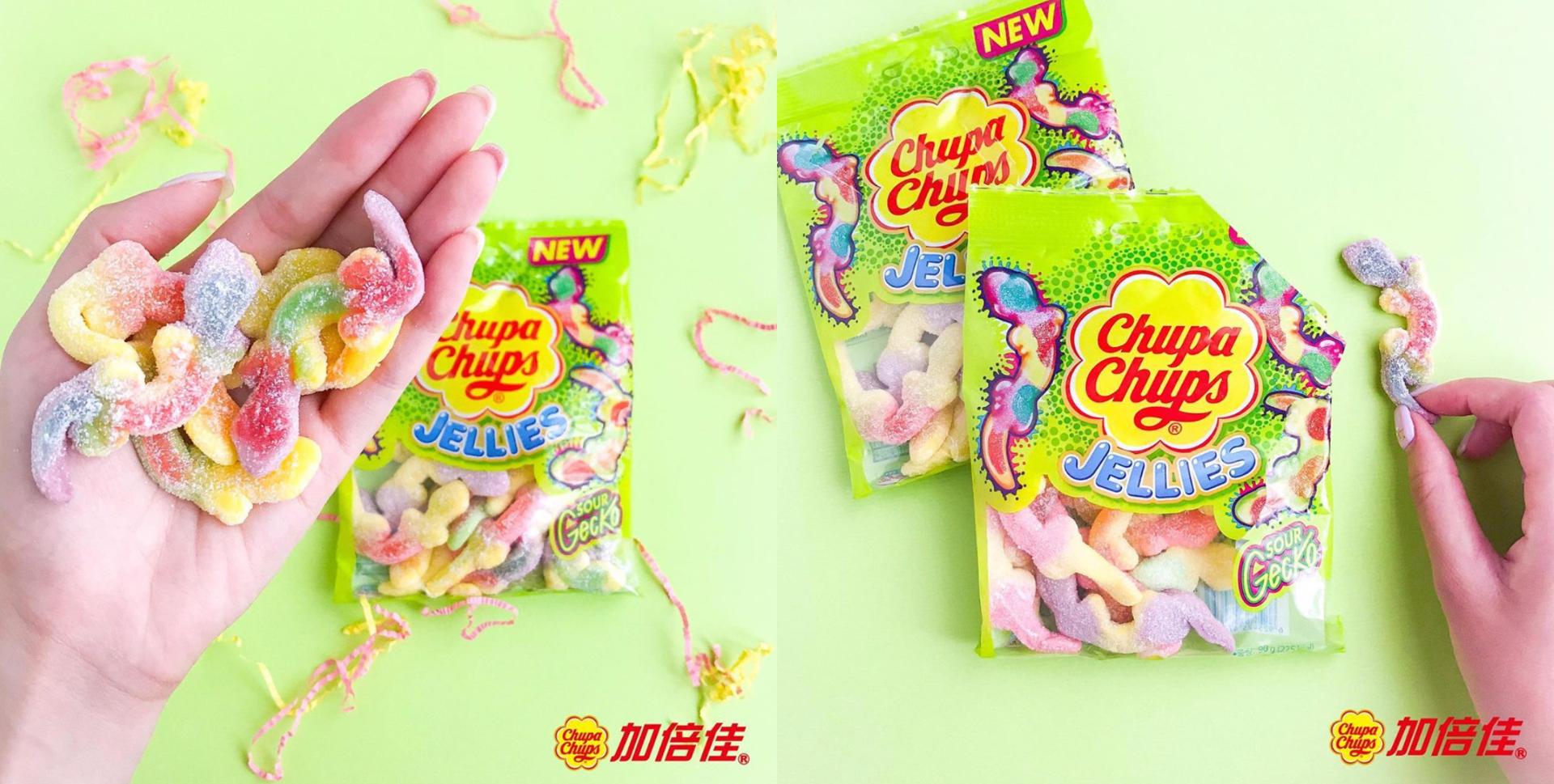 这个壁虎软糖你敢不敢品尝?-图摘自台湾加倍佳ig-