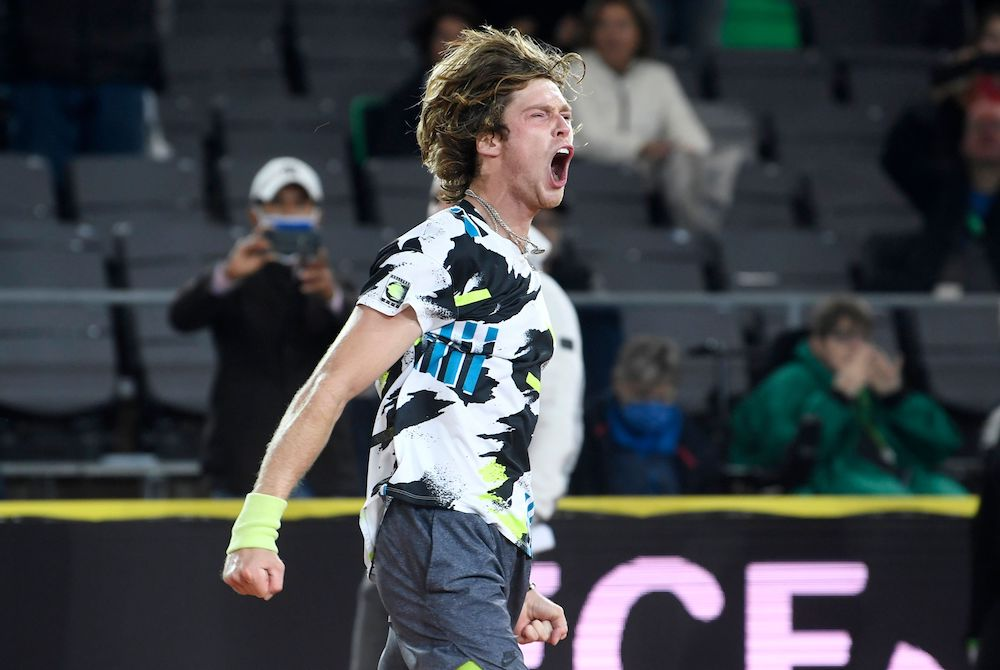 Andrey Rublev Beats Casper Ruud in Straight Sets To Reach Hamburg Final