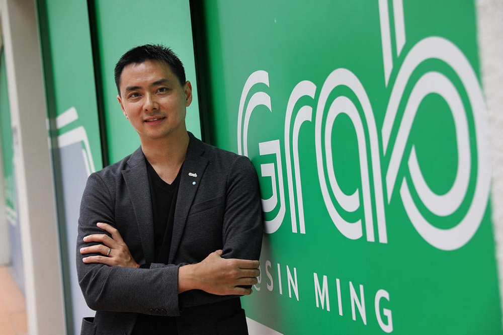 Yee Wee Tang, managing director of Grab Singapore, said that the ride-hailing firm would help and encourage gig workers whose goal is to move to other jobs. — TODAY pic
