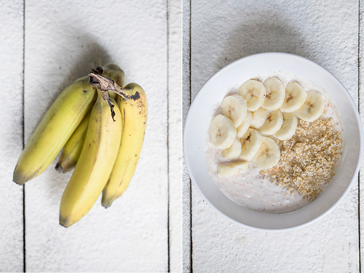 Bananas are high in potassium, which may help lower blood pressure.